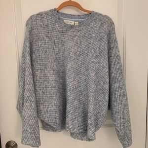 RD Style Stretchy Blue Sweater, L